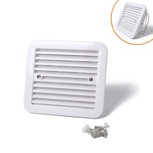 Parts One Way Dust Proof Ventilator For Saloon Car Trailer Side Vent With Blower Fan A0672-02 Strong Wind Model