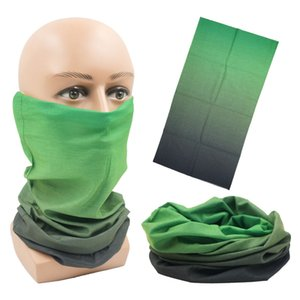Unisex Ice Silk Breathable Moisture Wicking Hairband Cap Scarf Anti-UV Head Scraf Outdoor Multi-function Riding Face Cover