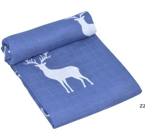 The latest 120x120CM blanket, baby gauze wrapper is swaddled, there are many styles to choose from HWE10252