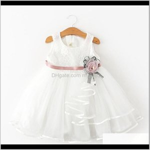 Dresses Baby, & Maternity Drop Delivery 2021 2 Year Baby Clothes Flower For Girls Summer Tutu Dress Lace Tulle Party Princess Wedding Kids Ca