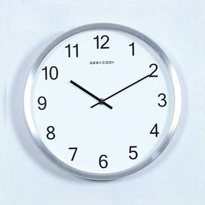 Nordic Modern Wall Clock Metal Home Living Room Decoration Mechanism Watch Creative Mute Bedroom Quartz Clocks Gift