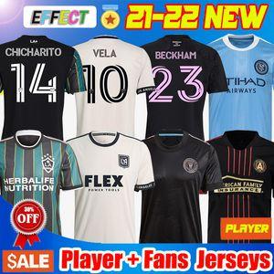 MLS NUEVO 21 22 LA Galaxy Soccer Jersey Atlanta United FC camisetas de fútbol 2021 2022 Inter Miami CF CHICHARITO LAFC VELA Camisetas Higuain