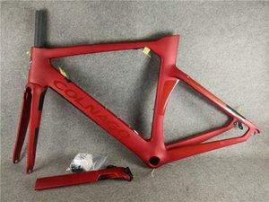 T1000 UD Matte Glossy NJRD Colnago Red Colnago Concept Carbon Road Cadres de vélo de carbone Taille 45/48/50 / 52/54 / 56cm