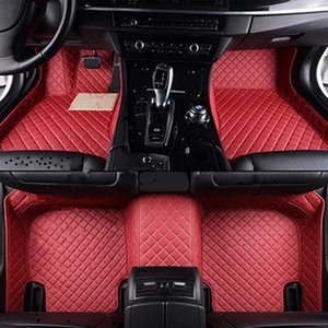 Flash mat leather car floor mats for Mazda All Models cx5 CX-7 CX-9 RX-8 Mazda3 5 6 8 March May vc fv f