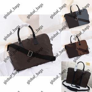 Men briefcase rlaptop bag mens bags Fashion all-match classic printing Essential for commuting computer bagmens handbag Retro Casual handbags messenger