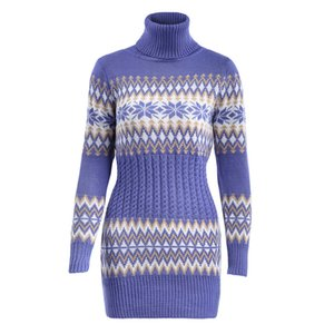 Winter Warm Women Sweater Long Sleeve Black Blue Turtle Neck Sexy Tops Pullover Sweaters Size S-2XL