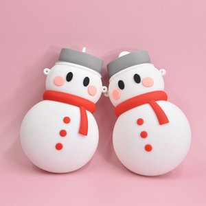 Snowman Silicone Hot Water Bottle Microwave Heating Water Heating Baby Creative Gift Student OEM