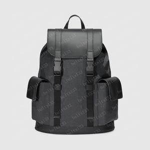 Mochila homens sacos bolsas esporte pacote ao ar livre 2021 homens grandes mochilas de moda web couro tiger saco saco fahion bolsa 495563 34/44 / 16cm # CU03