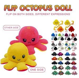 Tiktok éclairé pieupus pincement peluche jouets pour enfants mignon mignon sourire émotion inversable animal poupée poupée poupée enfants cadeau livraison rapide