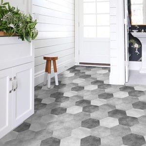 Funlife Waterproof Bathroom Stickers,Peel Stick Self Adhesive Tiles,Kitchen Living Room Decor Non Slip Floor Decal