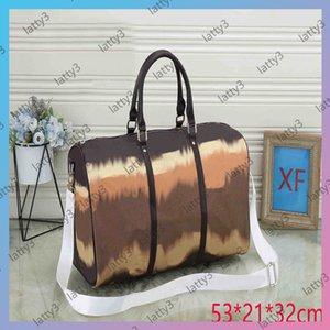 2021 Large Capacity Totes Tote Bags Women Travel Bag Women Men Duffle Bag Pack Brands Travel Luggage Handbags CrossBody Totes Size L 53cm 47