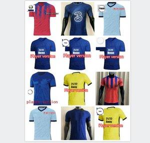 Игрок версия 20 21 Футбол Футбол 2021 Футбол Футбол 2021 Авраам Гора Уильян Лампард Педро Футбольная футболка HUDSON ODOI KANTE