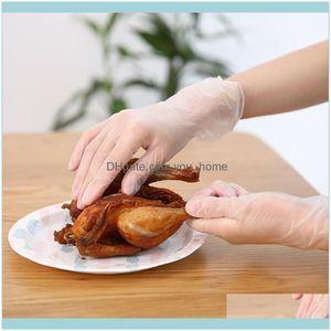 Dinnerware Supplies Kitchen, Dining Bar & Garden1 Box Disposable Washing Transparent Pvc Gloves Home Kitchen Aessories Cooking Portable Clea