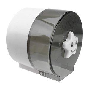 Toilet Paper Holders Punching Free Holder Waterproof Towel Bathroom Tissue Box
