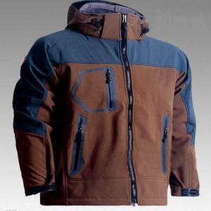 Colore: Brand Sports Gore-Tex Camping Mens Soft Antivento Antivento Impermeabile Outdoor Shell Hiking Shell, Giacche Cappotti 602 Nuovo Nero PRDP verde