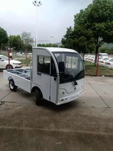 2T electric flat car