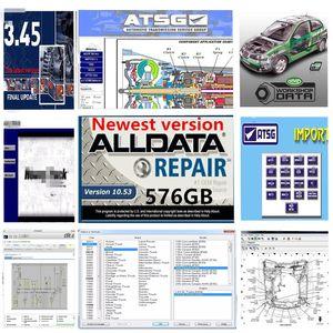 AllData Tüm Veri Soft-Ware MIT Auto ... Veri ATSG Canlı Atölyesi En Son Sürüm 1TB HDD