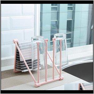 Utensil Racks Folding Sink Washing Towel Rag Water Cup Drainer Holder Kitchen Fast Drying Hanging Storage Rack 3Psio Fgrul
