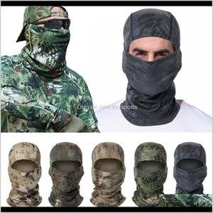 Caps Masks Hunting Camouflage Hood Balaclava Full Face Ski Army Military Tactical Sunscreen Cap Bike Cycling Mask Qrrp3 Lcsyl