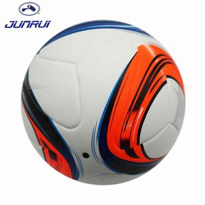 JUNRUI Official Size 5 Football Ball PU Granule Slip-resistant Competition Match Training Football Outdoor Sports JB605