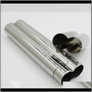 Cigar Accessories Durable Light Weight Stainless Steel 2 Cigars Tube Holder Container Smoking Cigarette Tobacco Travel Carry Case Za53 Valjt