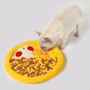 Dogs Snuffle Mat Pizza Hidden Sniffing Dog Work Searching Pad For Puppy Traning Nose Kennels & Pens