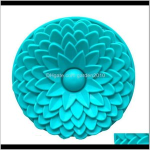 Tools 3D Sunflower Cake Chrysanthemums Soap Mold Flowers Moulds Candle Molds Sile Csqlm 3Muer