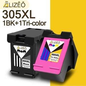Ink Cartridges Alizeo 305XL Cartridge Replacement For 305 XL DeskJet 1210 2710 2720 4110 4120 4130 6010 6020 6030 6420