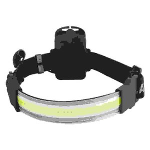 LED strip 3-mode 400lm waterproof outdoor headlamp tactical flashlight AAA battery