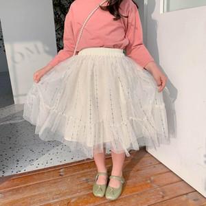 2-8Yrs Fashion Baby Kids Skirt Spring Toddler Girls Skirts Princess Glitter Dance Tutu Party Wear Children Clothes