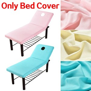 Sheets & Sets Massage Table Salon Bed Fitted Sheet Mattress Polyester Elastic Rubber Band SPA Treatment Cover W  Face Breath Hole