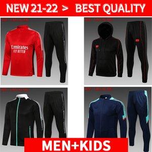 21 22 Arsen Hoodie jacket soccer jersey PEPE NICOLAS CEBALLOS HENRY GUENDOUZI SOKRATIS MAITLAND-NILES TIERNEY 2021 2022 football shirt training suit