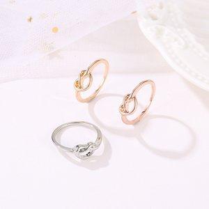40 unids / lote nuevo llega anillos de dedo geométrico anillos de rollo de rosa anillos de racimo para las mujeres blancas k regalo de regalo joyería adornos accesorios 720 t2