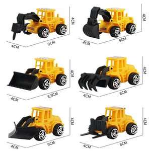 Model Cars Toy Car Engineering Vehicle Boys Birthday Gifts Children Toys Mini Puzzle