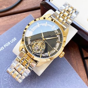 Classic Mens Watches Automatic Mechanical Watch 42mm Stainless Steel Strap Gold Wristwatch Life Waterproof Design Montre de luxe Gift Wristwatches