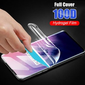 Wholesales Screen Protectors Soft full cover protective for oneplus 8 Z Nord phone 7 7t pro hydrogel film Not Glass smartphone