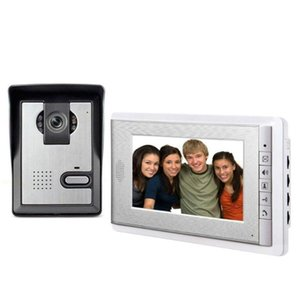 Video Door Phones 7 Inch Monitor Phone Intercom System Doorbell Camera Visual Doorphone For Villa