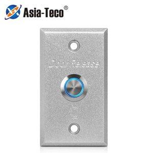 86 * 50mm Alliage d'aluminium Bouton d'alliage d'interrupteur de sortie de la porte de la porte pour verrouillage d'accès à la commande d'ouverture d'ouverture d'empreinte digitale