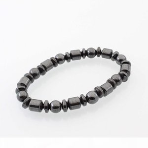 Hot Selling New Beautiful Popular Black Stone Magnetic Magnet Bracelet Hematite Bracelet Black Stone Magnet Bracelet HJ175
