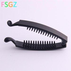 1pc NewClaws Clip Fish Shape Banana Barrettes Black Hairpins Hair Accessories For Women Hair Clip Clamp Hair Accessories 1789 Q2