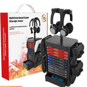 PS5 multifunctional storage bracket Xbox Series X game disc storages box brackets NS rack