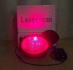 Tampão de cabelo laser portátil para perda.272 Diodos Tratamento de crescimento agora 2ª bateria livre