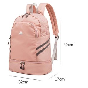 Gym Backpack Traveling Bag Fitness Bags for Shoes Training Dry And Wet Sack Gymtas Sac De Sport Mochila Swimming XA874WA C1008