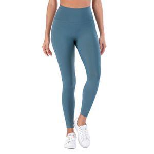 Женские брюки CAPRIS мода женщин женские дамы высокая талия бегущий фитнес костюм сплошные цветные брюки нажимают бедра леггинсы