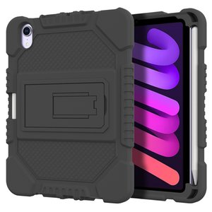 for iPad mini 6 slicone Hybrid Shockproof case stand