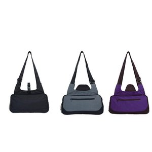 Gym Duffle Bag Yoga Mat Carrier Sports Holdall Outdoor Inclined Shoulder For Fitness Item Storage Purple Bags