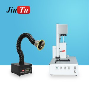 2021 Fiber Laser Separating Machine With Fume Extractor For iPhone 12 12Pro Max 11 X XS XR Back Glass Removing Engraving