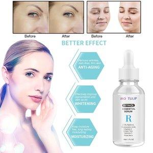 MO TULIP 2 STÜCKE Retinol Feuchtigkeitsspendende Gesichtscreme Retinol Serum Anti-Aging Gesicht Augenbereich Vitamin E Green Tee Gesichtscreme Serumrabin