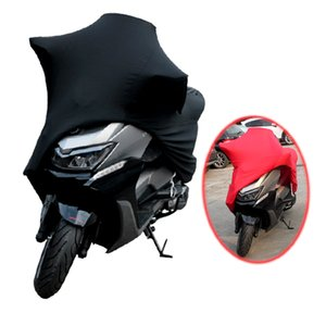 Universal Motorcycle Covers UV Protector Cover Indoor Outdoor 2 Colors Bike Motor Scooter Dustproof Cover Elastic Fabric M-4XL
