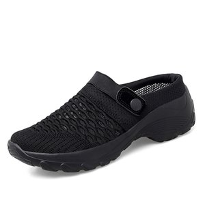 KIKIDS Lady Shoes Casual Increase Summer Spring Sandals Non-slip Platform Sandal For Girl Breathable Mesh Outdoor Walk Slippers 210903